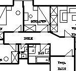 Ferienhof Hund | Grundriss der Wohnung 2